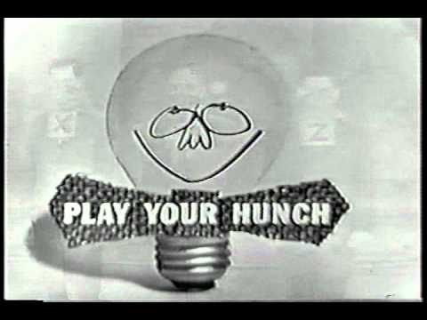 PLAY YOUR HUNCH  credits game