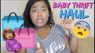 Thrift Shopping Haul For Baby Girl #2   34 Weeks Pregnant