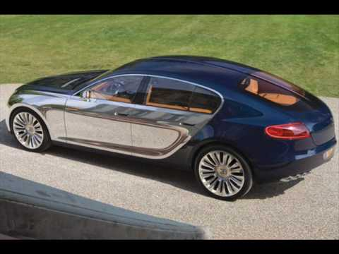 New Bugatti Galibier fastest four door car in the world - YouTube