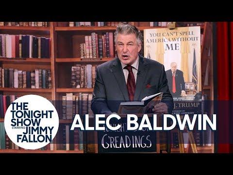 Alec Baldwin Gives a Reading of His Parody Donald Trump Memoir