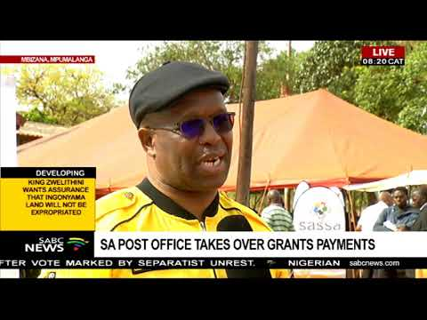 UPDATE: SA Post Office Takes Over Grants System