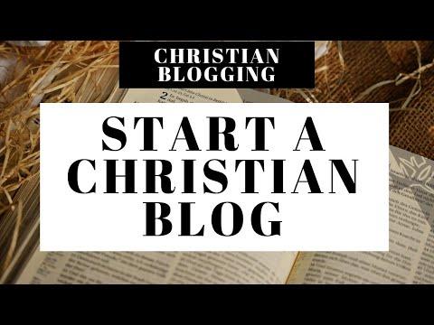 How To Start A Christian Blog   Christian Blogging 101 For Beginners