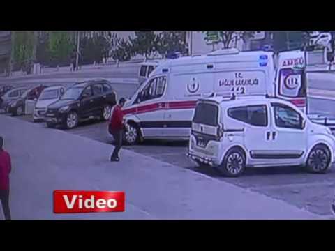 Kayseri'de Sokak Ortasında Cinayet Kamerada!