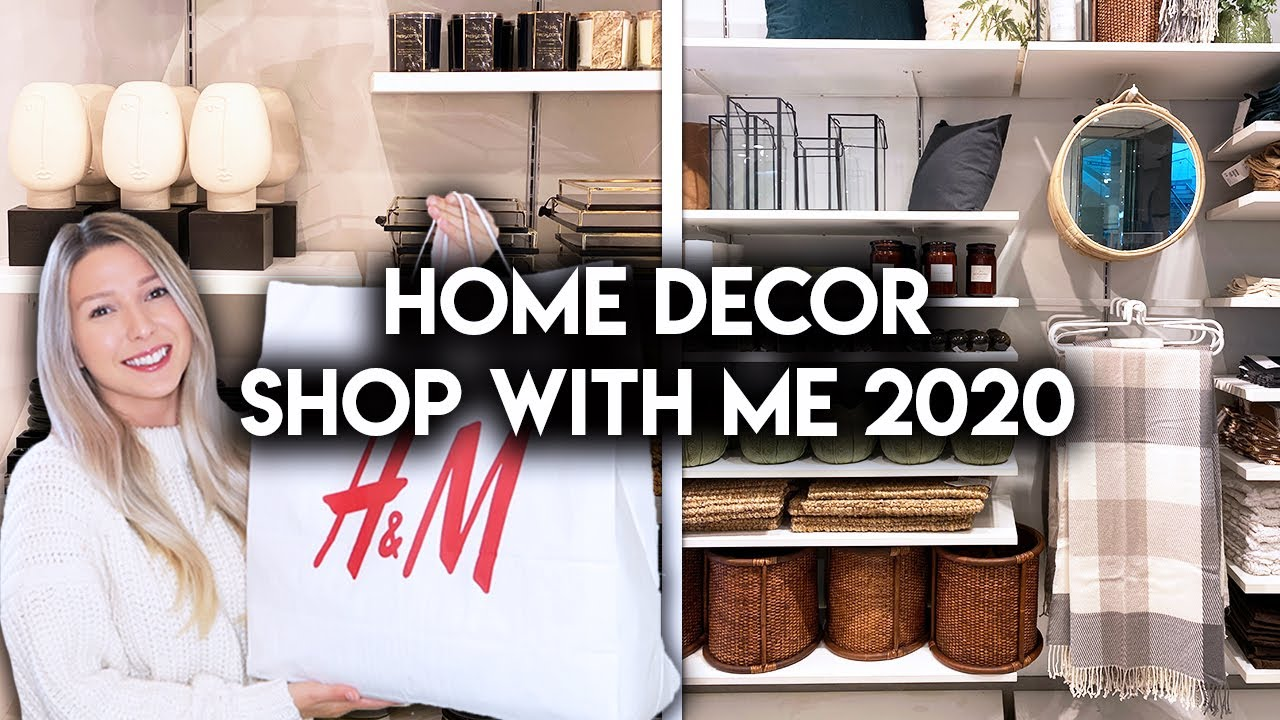H&M HOME SHOP WITH ME + HAUL | AFFORDABLE HOME DECOR