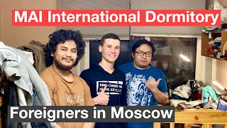 I VISITED Dormitory of the Moscow Aviation Institute, in which foreigners live. ROOM TOUR #EJDay 37