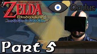 Oculus Rift DK1 - Legend of Zelda: Wind Waker - Part 5: Cannon Fodder