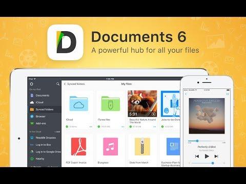 Documents 6 - Super gestor de archivos, manda musica, fotos y videos a cualquier dispositivo.