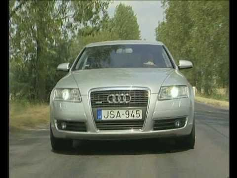 motorter audi a6 3 0 tdi quattro 2007 youtube. Black Bedroom Furniture Sets. Home Design Ideas