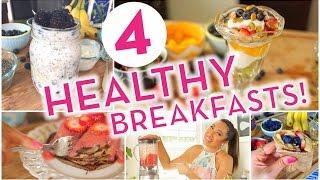 Super Easy Healthy Breakfast Ideas Banana Pancakes Overnight Oats Energy Wrap Rainbow Pa