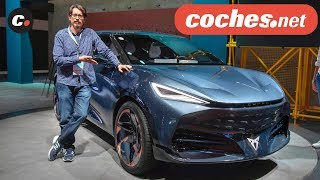 CUPRA Tavascán | Concept SUV Eléctrico | Salón de Frankfurt IAA 2019 en español | coches.net