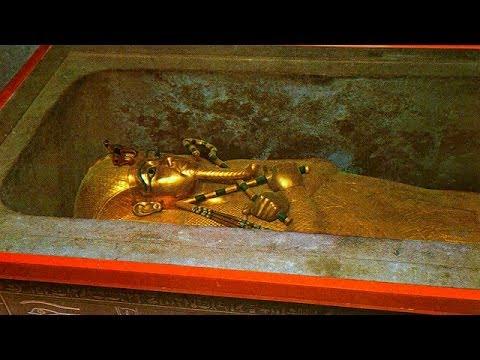 Altın Kaplama Lahit Mezar - Gold Sarcophagus (Egypt)