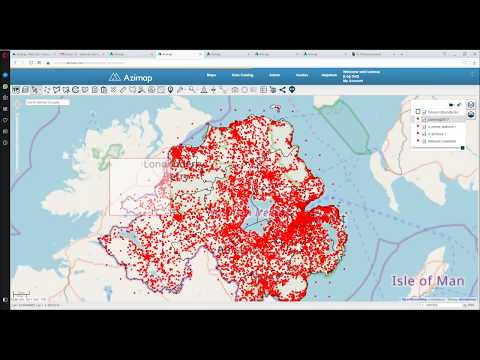 GIS for Location Intelligence using Azimap GIS mapping software