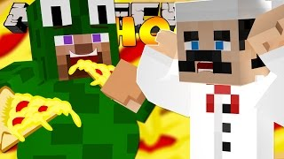 Minecraft School - LITTLE LIZARD & LITTLE CARLY GET FAT!!