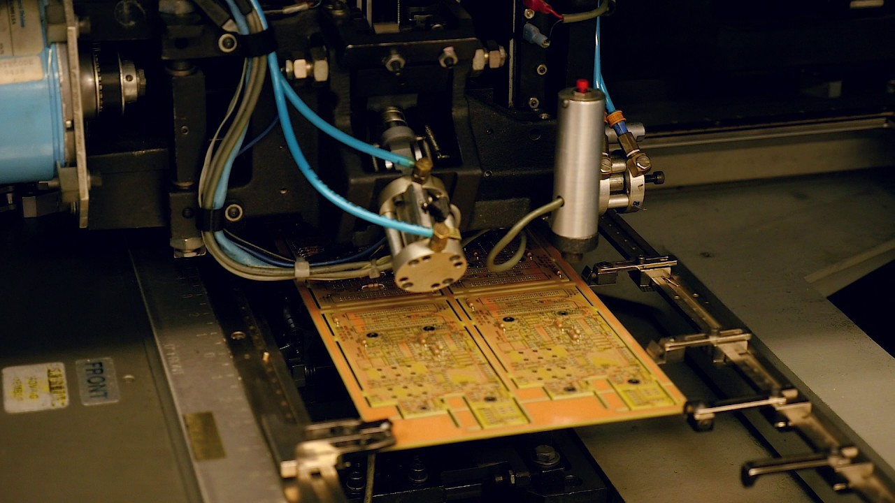 Pcb Through Hole Assembly Youtube Printed Circuit Board Manufacture Ourpcb Electronic Design Manufacturing