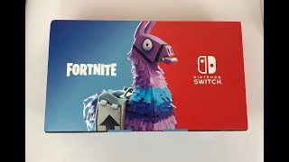 Nintendo Switch Fortnite - Double Helix Skin Bundle Console Unboxing!