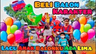 Beli Balon Karakter Lucu Lucu I Balonku Ada Lima Lagu Anak Indonesia Populer