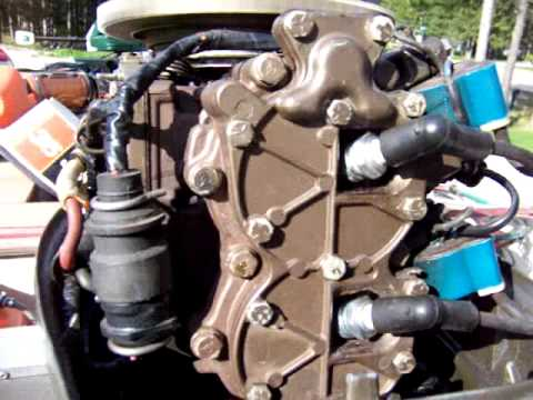 1976 35 hp johnson outboard problem youtube rh youtube com Johnson Wiring Harness Diagram Johnson Ignition Switch Wiring Diagram