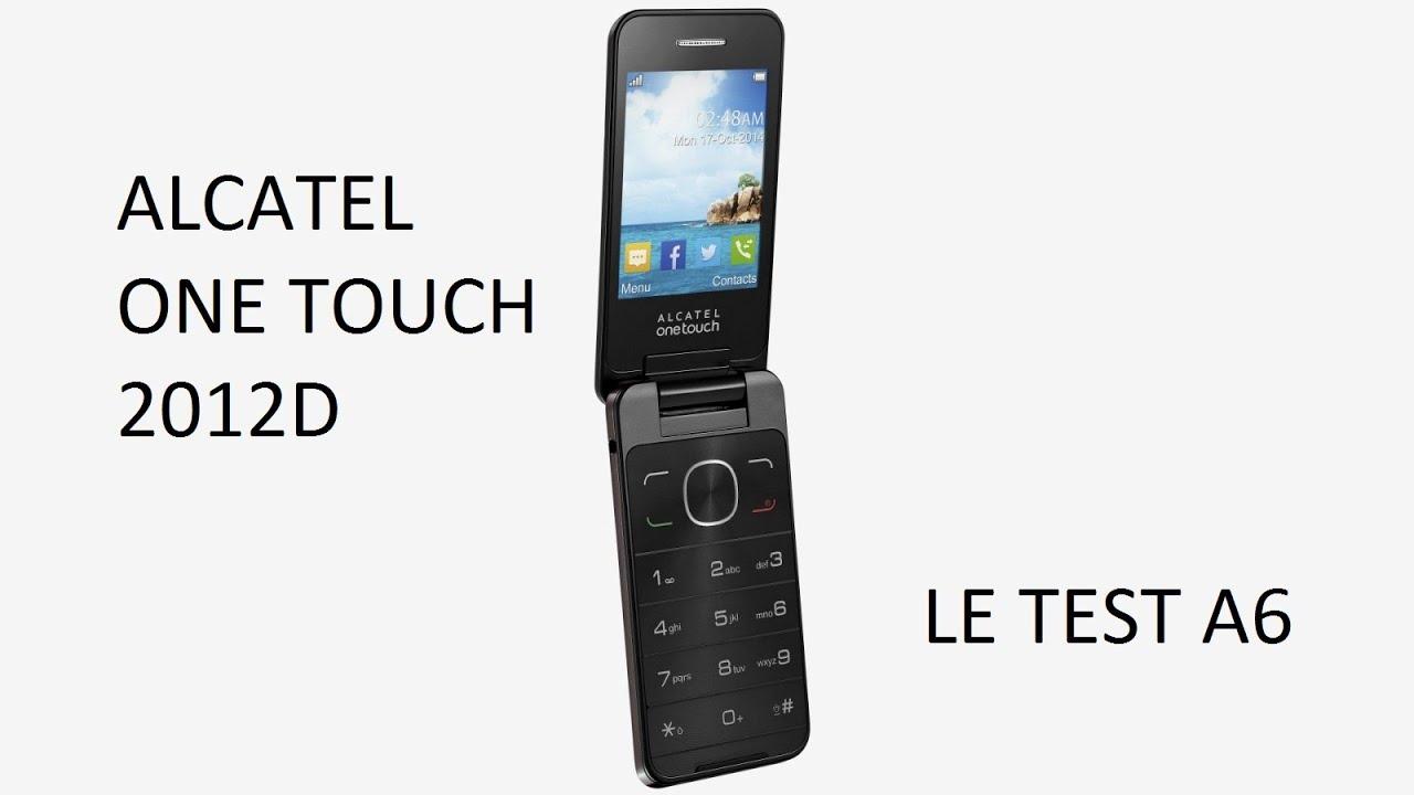 Smartphone - Test de l'Alcatel Onetouch 2012D