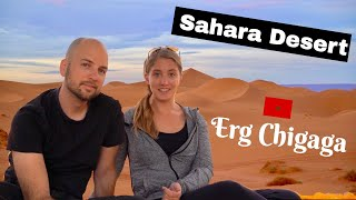 Erg Chigaga | Sahara Desert Tour Day 2 | Morocco Travel المغرب الصحراء الكبرى