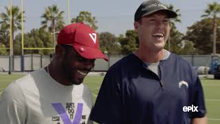 Philip Rivers & Mike Vick talk Phil's Best Trash Talk, Wearing Reebok's, Throwing Motions and More