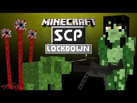 SCP: Lockdown Update! (Minecraft Mod Showcase) - 1.12.2 - NEW SCPs!