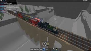 New Train set Test Run? (Roblox WIP railway map)