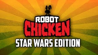 lego robot chicken star wars edition