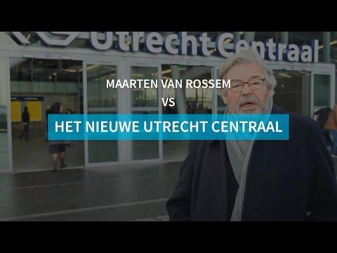 Maarten van Rossem vs het nieuwe Utrecht Centraal - de Volkskrant