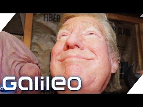 Das ist der beste Maskenmacher der Welt | Galileo | ProSieben