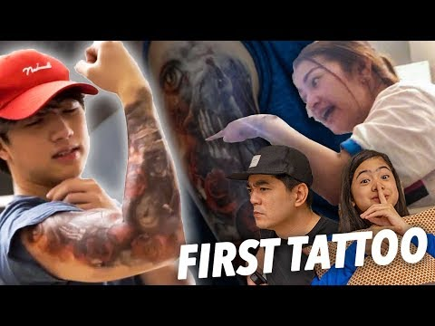 How My Parents Reacted To My TATTOO!? | Ranz and Niana