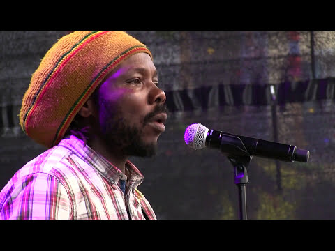 Okolo and Ngoni band in concert on Caliente stage in Zurich fest 2016