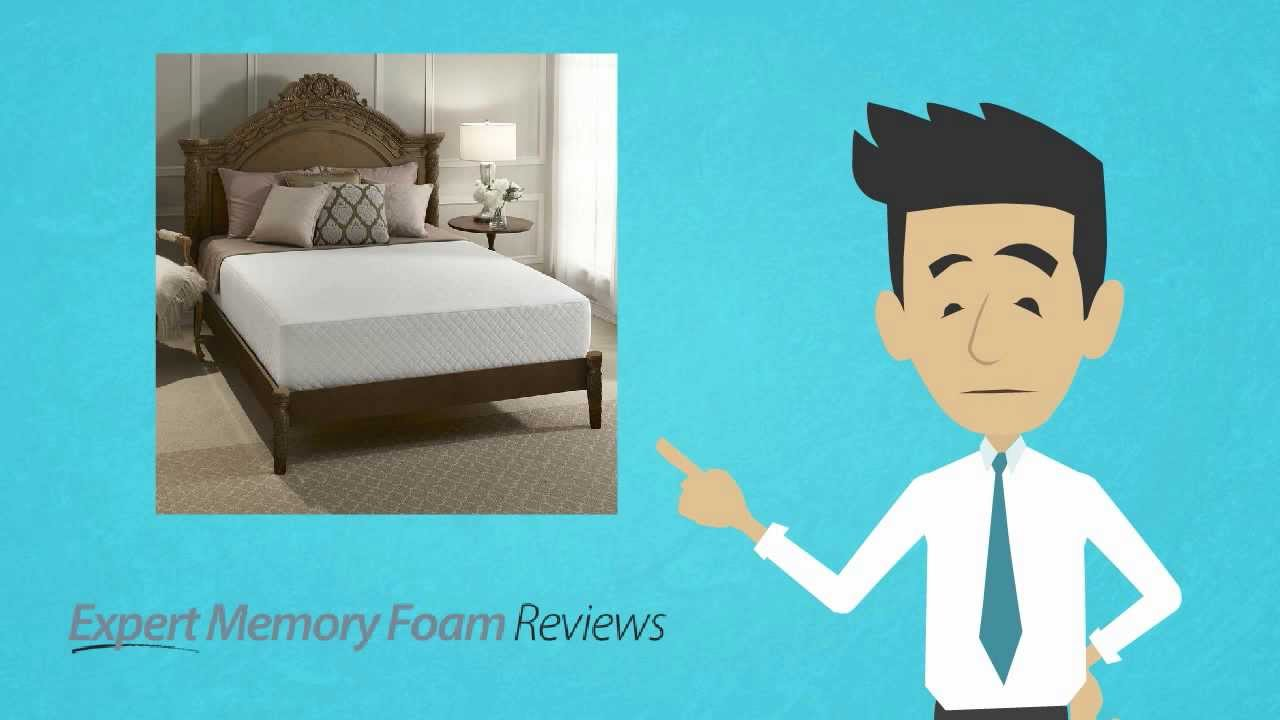 Serta 12 inch Gel Foam 3 Layer Memory Foam Mattress A review from