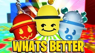 Which Is Better!? Honey Mask, Fire Mask or Bubble Mask In Roblox Bee Swarm Simulator