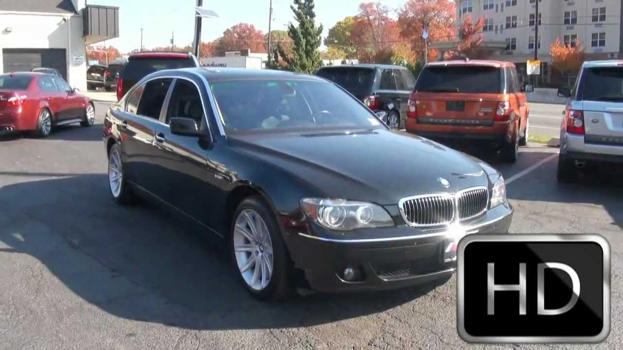 2006 Bmw 750li 7 Series Sedan Youtube
