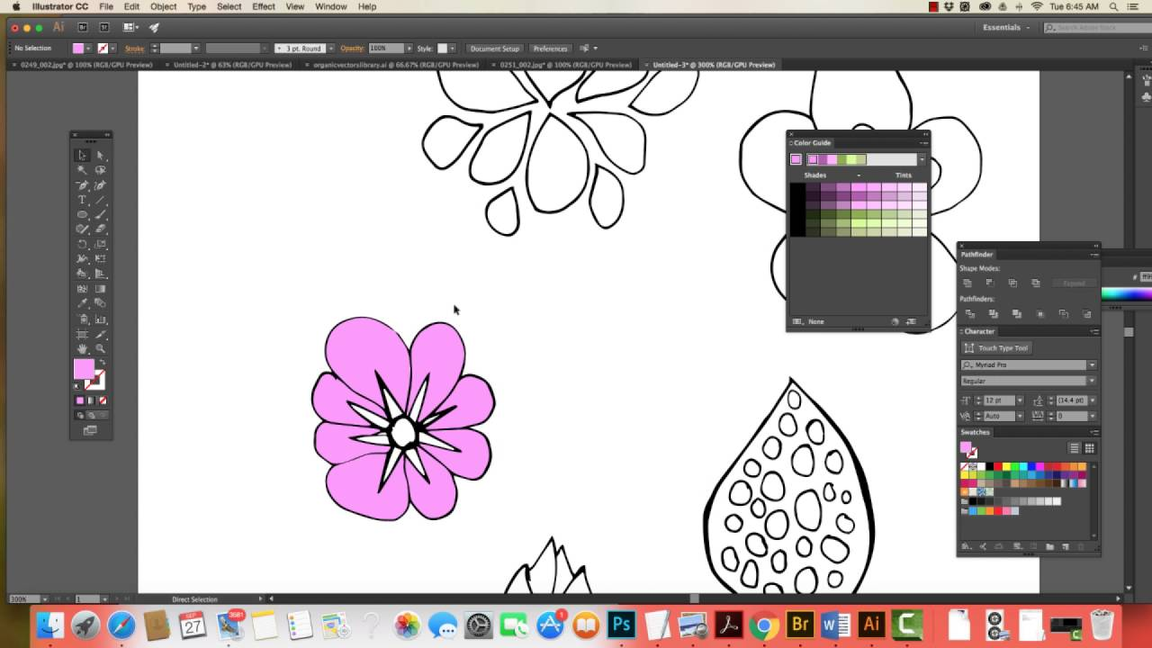 Turning Sketches Into Vector Art Illustrator