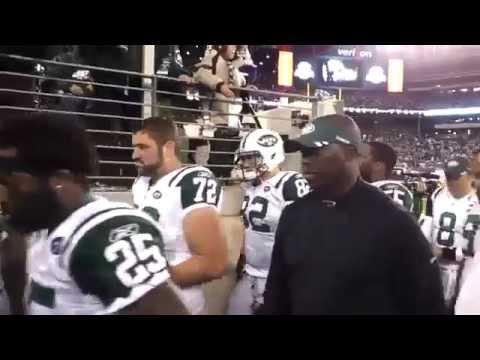 (HD) Rex Ryan Curses at Fan tells him to shut the f**k up