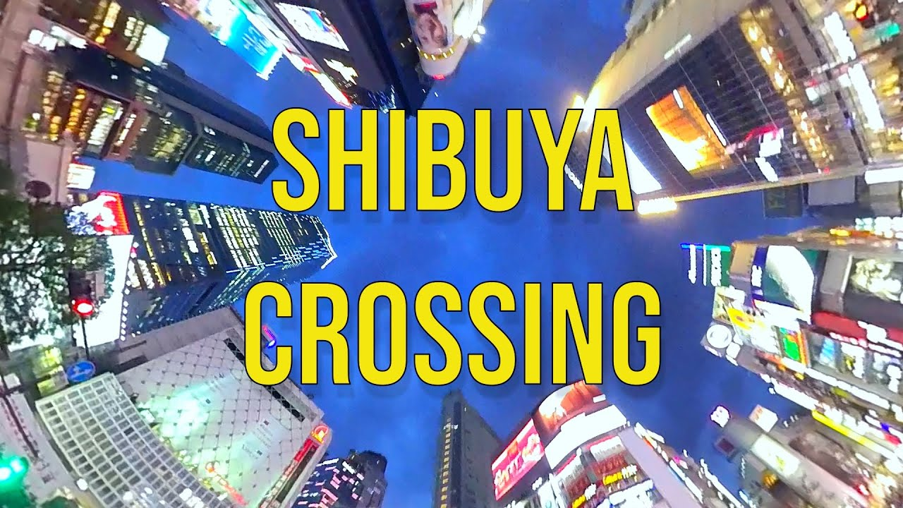 Shibuya Crossing - My RØDE Reel 2020