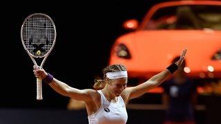 2016 Porsche Tennis Grand Prix Semifinal   Laura Siegemund vs Agnieszka Radwanska   WTA Highlights