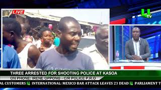 3 Grabbed over killing of two police officers at Gomoa Buduburam - Police Confirms