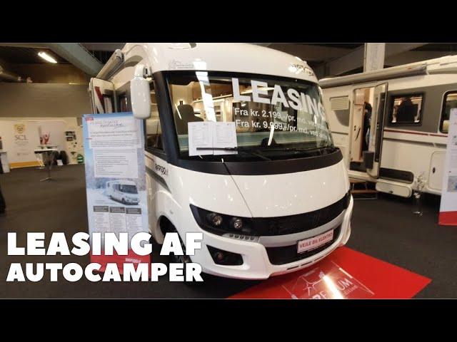 Leasing af autocamper
