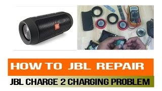 How to JBL Charge 2 Repair Charging port problem /Replacement Tutorial