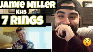 "Reacting to Jamie Miller & KHS Cover of "" 7 Rings "" Ariana Grande"