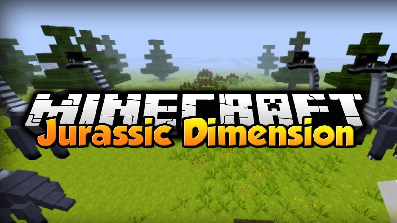 Minecraft Mod Showcase Jurassic Dimension 164 YouTube