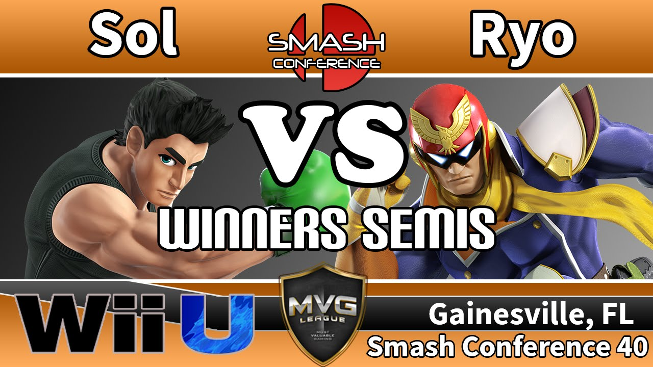 MVG|Sol (Little Mac) vs. MVG|Ryo (Ike & Captain Falcon ...