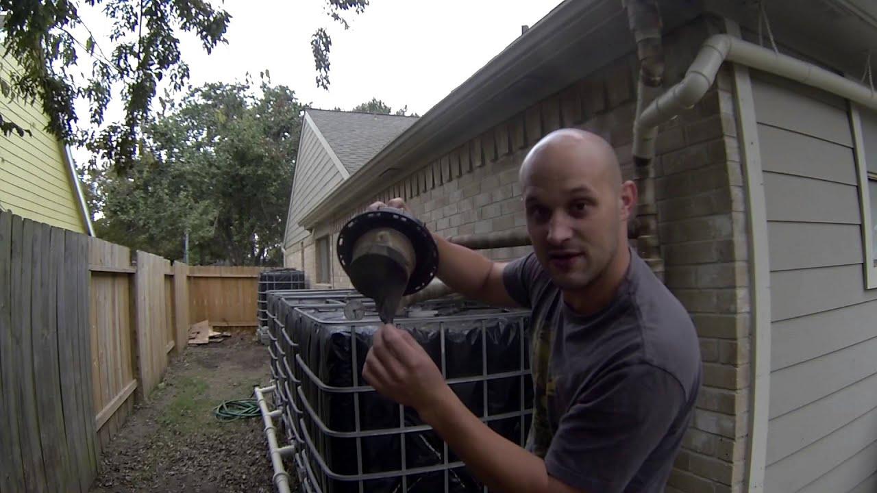 Step 6 Ibc Rainwater Harvesting System Pre Filtration