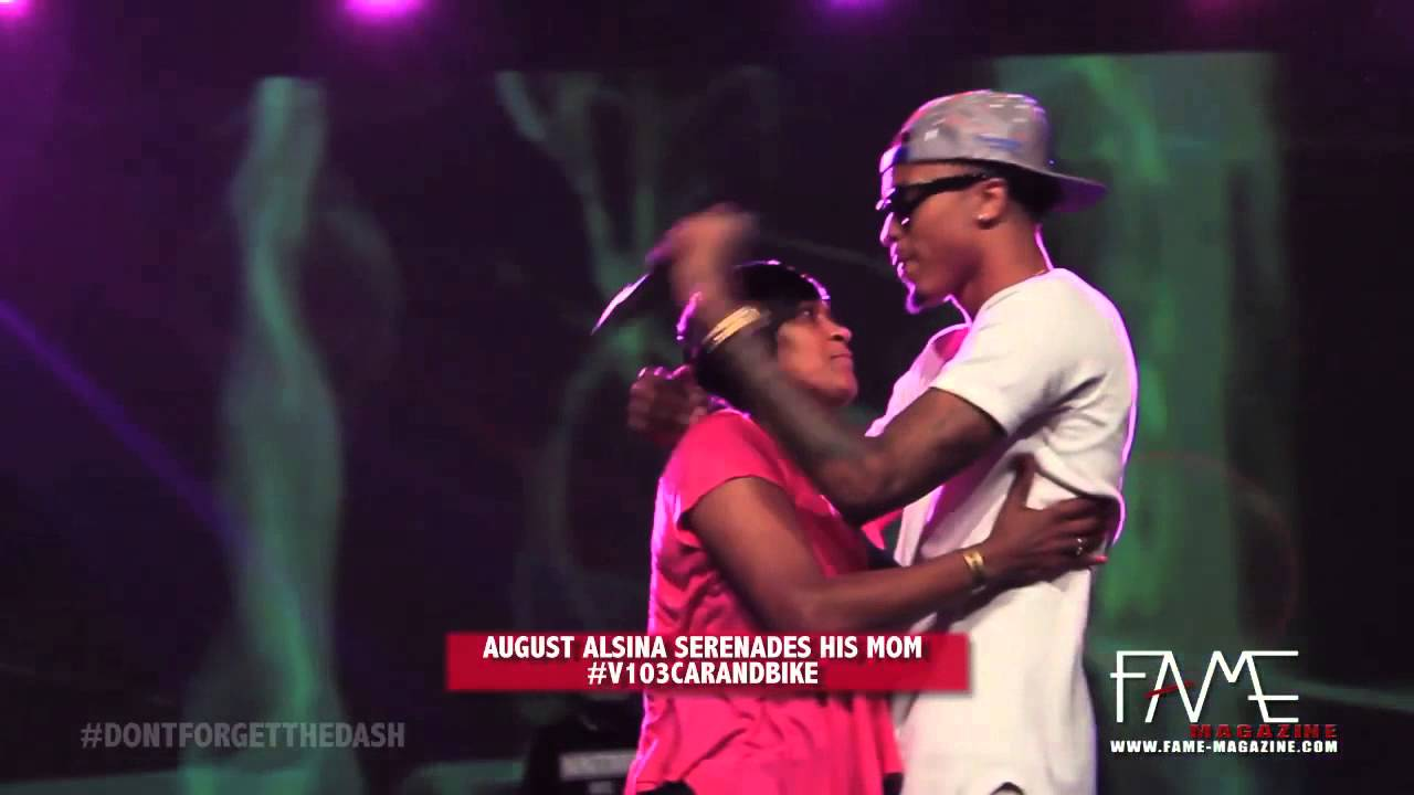 August Alsina Sings Make It Home To His 1 Fan Youtube