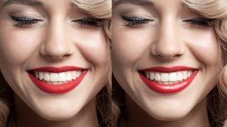 Как добавить блеск губам в Фотошоп