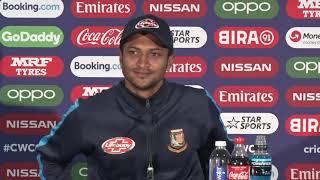 Post Match Press Conference  -Shakib Al Hasan - Bangladesh
