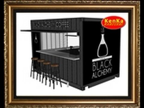Box Container Cafe Amp Resto Youtube