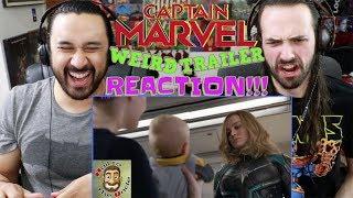 CAPTAIN MARVEL WEIRD TRAILER | Funny Spoof PARODY by Aldo Jones - REACTION!!!